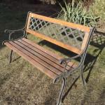 ławeczka ogrodowa do remontu