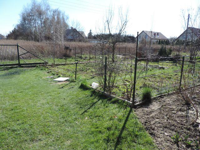 Demontaż ogrodzenia ogrodu warzywnego