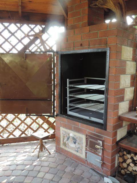 grill i wędzarnia w komplecie