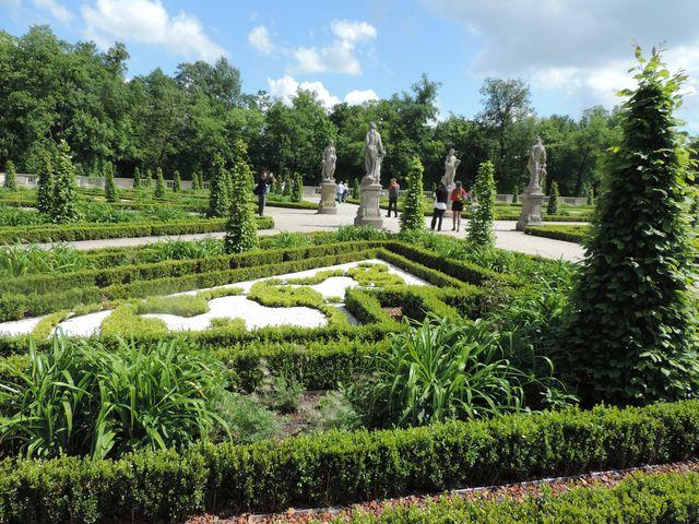 Ogród w Wilanowie