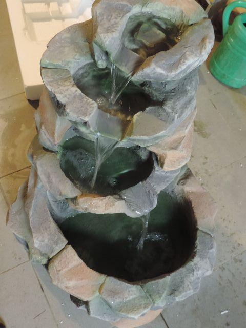 Tesowe uruchomienie fontanny