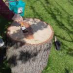 olejowanie drewnianych ławeczek