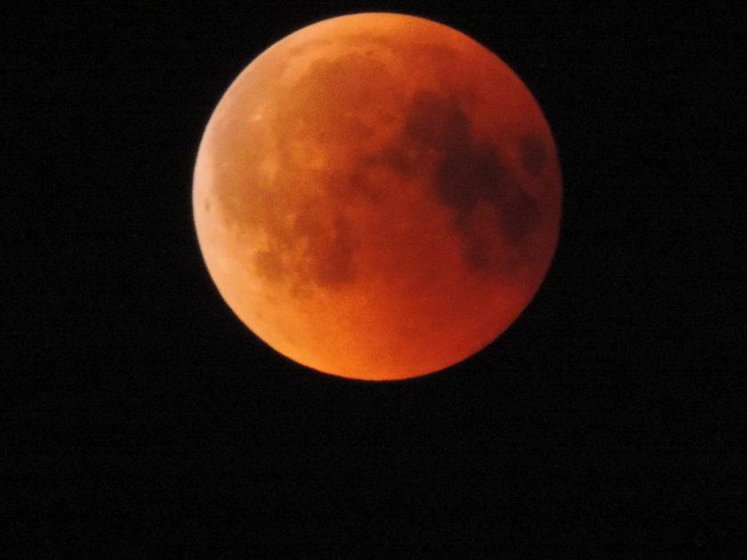 Zaćmienie Księżyca 2018